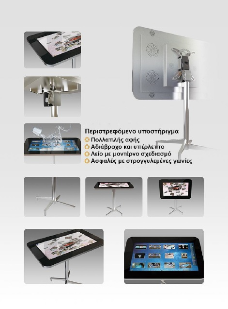 Multi-Touch Table - Τραπέζι Πολλαπλής Αφής
